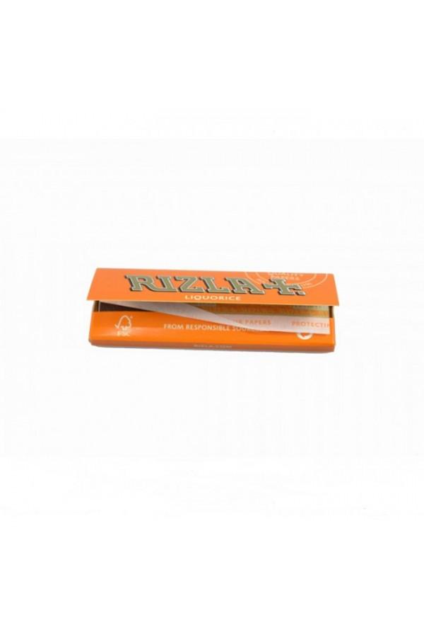 Χαρτάκια Rizla πορτοκαλί (γλυκόριζα) 50φ